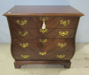 Mahogany Bombay Chest of Drawers