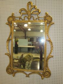 Ornate Gold Painted Mirror