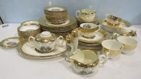 Mixed Set of Gold China