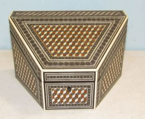 Inlaid Anglo Indian Style Letter Box