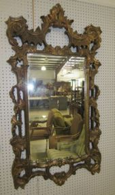 Rustic Gold Ornate Mirror