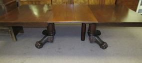 Early 1900s Claw Foot Dining Table