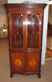 Lloyd Buxton Corner Cabinet