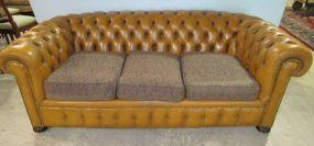 Caramel Chesterfield Sofa