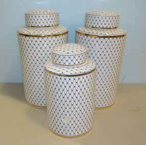Sagebrook Home Decorative Covered Jars