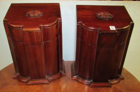 Pair of Reproduction Flatware Boxes