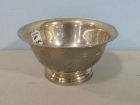 Paul Revere Repro Sterling Bowl