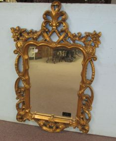 View Diamond Reproduction Gold Framed Mirror