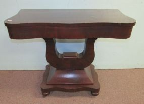 Mahogany Empire Wall Console
