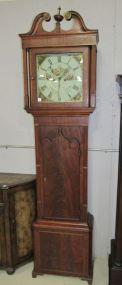 Antique Mahogany Long Case Clock
