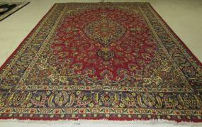 Kashan Persian Style Area Rug