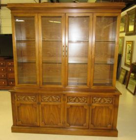 French Provincial China/Display Cabinet