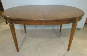French Provincial Oval Dining Table