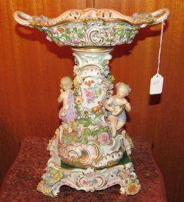 Meissen Porcelain Cherub Centre Piece
