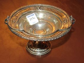 Columbia Sterling Handled Compote