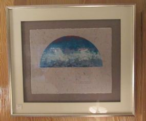 Dolph Smith Framed Hand Made Paper