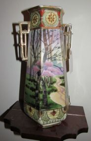 Imperial Nippon Hand Painted Vase