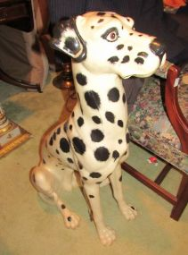 Life Size Dalmatian Statue