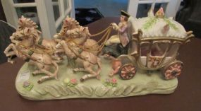 Capodimonte Horse Carriage