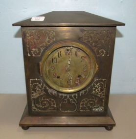 Ansonia All Brass Clock