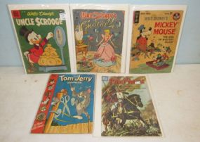 Five 1960s Vintage Comic Books
