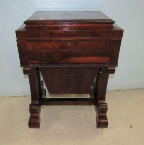 J. & J. W. Meeks Antique Sewing Cabinet/Work Table