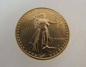 $25 American Gold Eagle Gold Coin