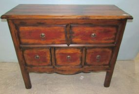 Hooker Furniture Distressed Chest