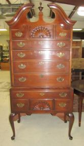 Drexel Heritage Queen Anne Style Chest on Chest