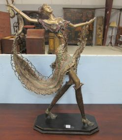 Tall Resin Dancing Lady
