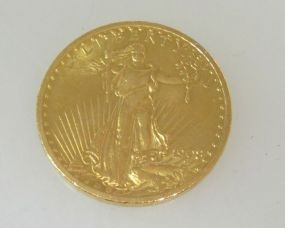 1908 Saint-Gaudens Double Eagle