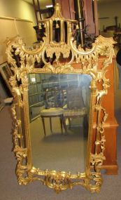 Ornate Gold Framed Mirror
