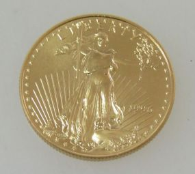 1996 $25 American Gold Eagle Coin