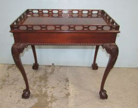 Councill Craftsman Ball-n-Claw Tea Table
