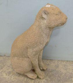 Concrete Jaguar Statue