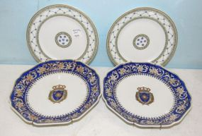 Four Porcelain Collector Plates