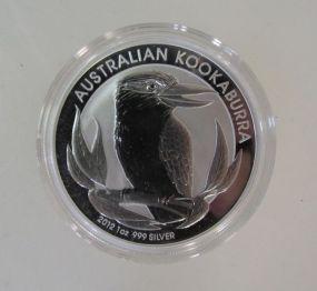 2012 Australian Kookaburra BU 1 Oz Coin