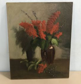 Marie Hull Oil Painting Still Life On Canvas