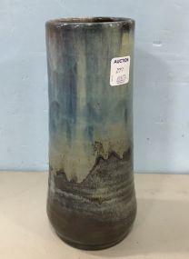 Shearwater Glazed Pottery Vase
