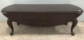 Queen Anne Cherry Drop Leaf Coffee Table