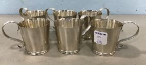 Set of Six Gorham Andrew Tyler Sterling Cups
