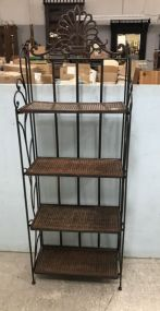 Rustic Modern Fold Out Baker's Rack