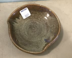 Shearwater pottery bowl