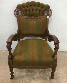 Eastlake Aesthetic Parlor Arm  Chair