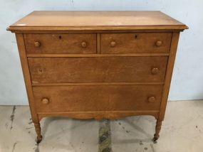 Northern Furniture Company Bird's Eye Maple Chest of Drawers