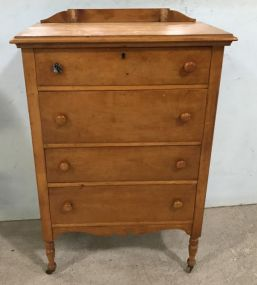Northern Furniture Company Bird's Eye Maple Chest