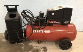 Sears Craftsan 4 HP 25 Gal Air Compressor