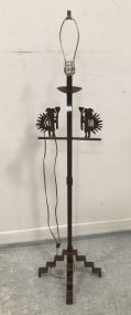 Southwest Style Iron Floor Lamp