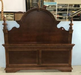 Broyhill Modern Victorian Cherry Queen/Full Bed
