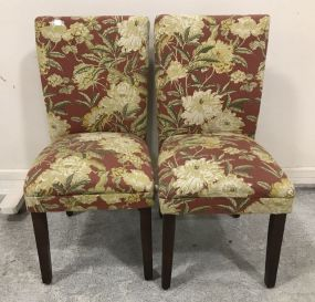 Pair of Modern Upholstered Side Chairs